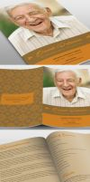 Naples Funeral Program Template by loswl
