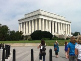 Lincoln Memorial by Wolfgal10