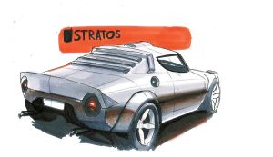 Lancia Stratos by MartinEDesign