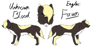 Unknown Blood - Fawn Reference by fluffylovey