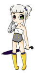 Halley the Little Cutey by R4gd011