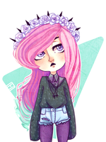 Pastel goth by TrololhAnime