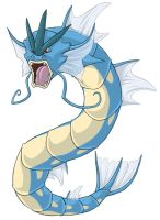 ...pogheys... Gyarados by Rainbow-Cemetery