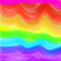 Rainbow Layers by Annaley