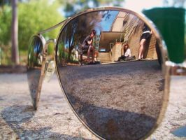 Friends reflection by In-My-Own-World