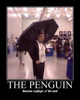 Awesome Cosplayer: The Penguin by MasterRBG