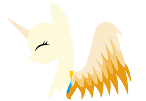 .:BASE:. Minimal Angel Pony by Hugger-Luver