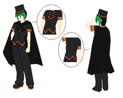 Outfit Design: Trick and Treat by ShadowRyuu