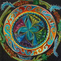 mandala for the new year by hadas64