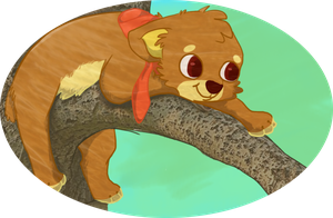 chillin on the tree by sir-boo
