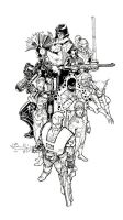cable n' friends by AaronKuder