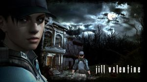 Jill Valentine Wallpaper by FadedBlackangel