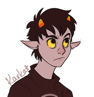 AND THEN KARKAT by Chexmicks