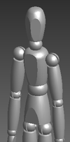 Manny untextured and unposed by JasonXL