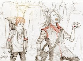 we are Artists  p.s. mercenaries by Sanzo-Sinclaire