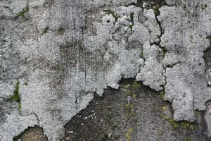 Weathered paint on concrete by fatgeekuk