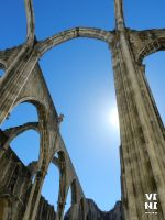 Ruins of the Carmo Convent, Lisbon #2 by ViniVix