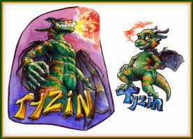 Tyzin Badges by FablePaint