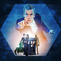 Doctor Who Series 8 - Iconic Poster Print by JaseTheAvenger