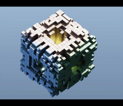 Cube of cubes by Alfredsson
