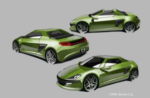 Fiat X1/9 by lukas-art