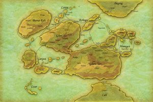 LoC: The World Map by Arcandio