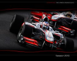 McLaren MP4-25 Bahrain by onlyK2