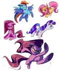 RDS ponies by Shira-hedgie
