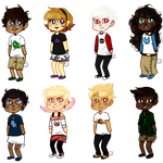 Homestuck Kids Headcanons by Nixhil