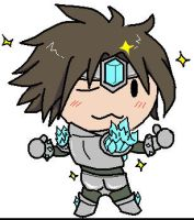 League of Legends Taric Chibi by sakashiiii