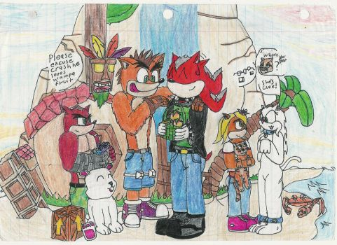 WS31 makes an alliance with Crash Bandicoot by WestSide31
