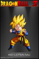 Dragon Ball Z -Kid Goten SSJ by DBCProject