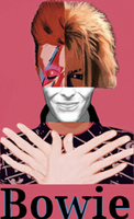 David Bowie collage by chaiiro03