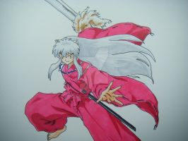 Inuyasha Fan art DRAWING VIDEO LINK by DrawingArtistMan