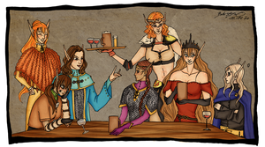 Baldur's Gate group pic. by Glor666