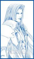 SEPHIROTH... again XP by Washu-M