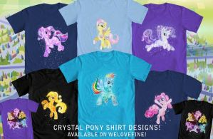 Crystal Pony Shirts by Tsitra360