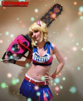 Zombies Eat My Chainsaw Death 5 by EvieE-Cosplay