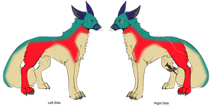 100-9 Themes - Big Wolf Adopt - Adopted by Feralx1