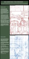 Ibuki Legends 1 pg 9 breakdown by Omar-Dogan