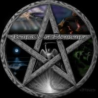Pentacle of Elements by MarkGreenmantle