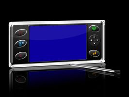 portable touchscreen front by rjoshicool