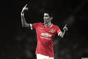 Angel di Maria by morenPosters