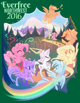 Everfree Northwest 2016 WeLoveFine Exclusive Shirt by Hollulu