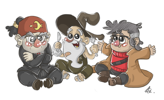 Little Old Men by RatTheRipper
