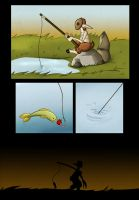 Gone Fishing by SillyStell