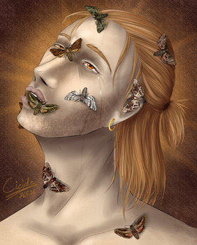 Moth-eaten man by Cicide76536