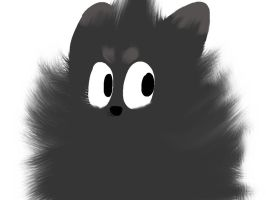 Fluffy Chain Chomp by INSPECTORGH0ST