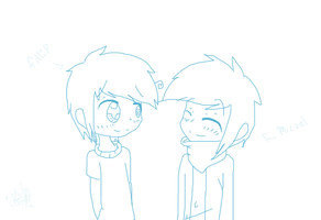 Fillip and Micael - 2 chabones y ningun destino (? by MicaelaMeow