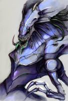 Zerg Queen by EmeraldSILVER